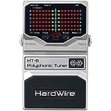 HardWire HT-6 Accordeur polyphonique pour guitare et basse