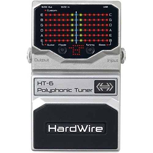 Digitech Chromatic Tuner (DigiTech HardWire HT-6 Polyphonic Tuner)