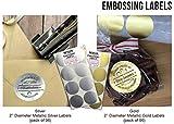 """Shiny Custom Logo Desk Embosser Seal - 2"""" Round"""
