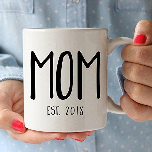 New Parents Pregnancy 2018 Announcement Coffee Mug Set 11oz - Unique ...