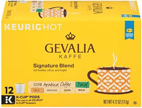 Coffee Pods: Gevalia K-Cup Pods