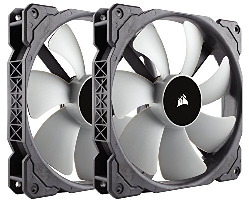 Corsair ML140, 140mm Premium Magnetic Levitation Fan (2-Pack) (Best Static Pressure Fans 140mm)