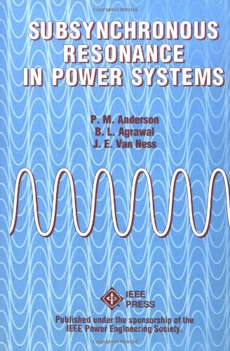 Subsynchronous Resonance in Power Systems
