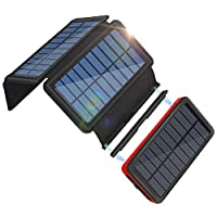 Portable Charger Solar Charger 26800mAh ...