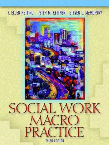 Social Work Macro Practice (3rd Edition)