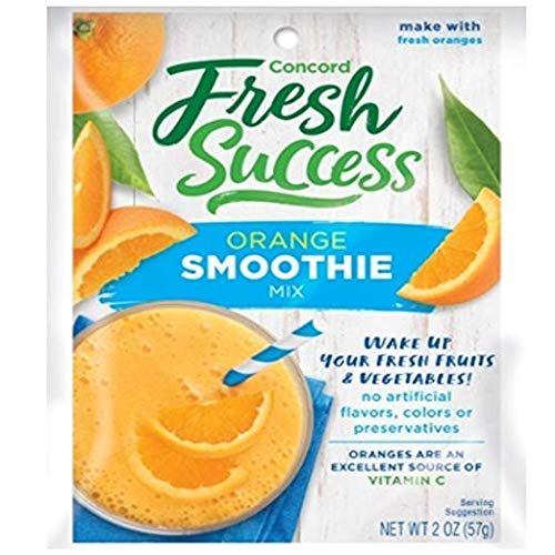 Concord Farms Orange Smoothie Mix, 2-Ounce Packages (VALUE of 18 Pouches) by Concord Farms
