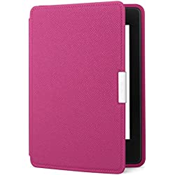 Amazon Kindle Paperwhite Leather Case, Fuschia - fits all Paperwhite generations