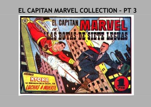 El Capitan Marvel Collection - Pt 3: The Earth's Mightiest Mortal - en Espanol!  All Stories - No Ads