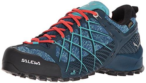 poseidon Salewa Ws Scarpe Donna Gtx Outdoor Capri Wildfire Blu 8964 Sportive wwq18r