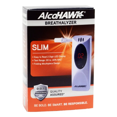Alcohawk Slim Digital Breathalyzer, Health Care Stuffs