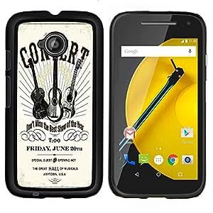 Dragon Case - FOR Motorola Moto G 2nd Generation - ?don't get the one you love? - Caja protectora de pl??stico duro de la cubierta Dise?¡Ào Slim Fit