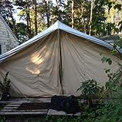 Amazon Com Trek Tents 10 X 14 Canvas Cabin Tent Khaki