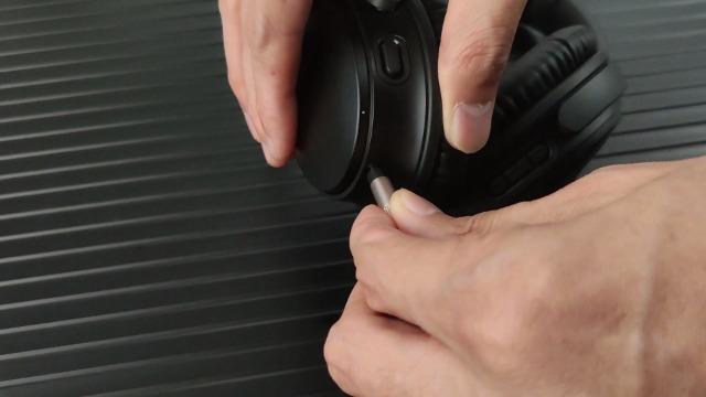 NewFantasia Replacement Audio Upgrade Cable Compatible with Bose QuietComfort 25, QuietComfort 35, QC25, QC35 II, QC35 Headphones 1.2meters/4feet