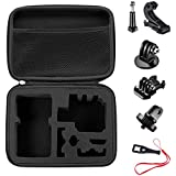 Bestter Carrying Case and Accessories Kit with Thumbscrew,J-Hook,1/4-20 Mount Adapter,Basic Buckle,Tripod Adapter and Wrench for GoPro Hero 5 Session/Hero 6 5 SJ4000 DBPOWER APEMAN Rollei Lightdow