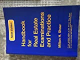img - for Shaw's Handbook for Real Estate Examinations and Practice Massachusetts 8th Ediiotn Revised book / textbook / text book