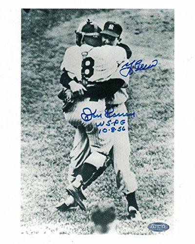 Yogi Berra & Don Larsen Autographed/signed New York Yankees 8x10 Photo 20658 Ste - Autographed MLB Photos
