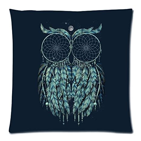 Amazon.com: Dos Atrapasueños combinar Night Owl azul marino ...