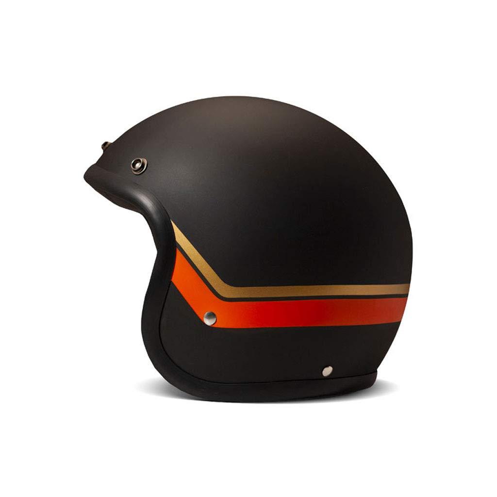 DMD Vintage Sunset Helmet Matte Black//Orange