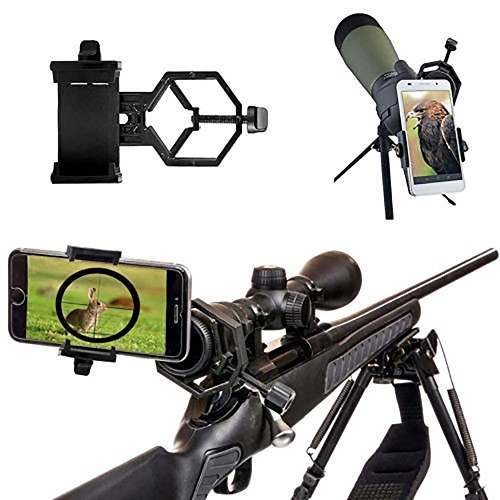 Universal Cell Phones Camera Adapter Telescope Binocular Holder Spotting Rifle Scope Mount from WYQ