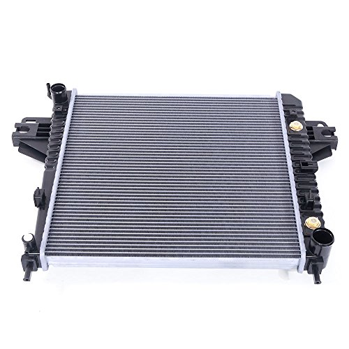 Used Jeep Liberty Renegade - New 2481 Radiator for 2002-2006 Jeep Liberty 65th Anniversary Edition / Base/ Limited / Renegade / Rocky Mountain Edition / Sport 3.7L V6
