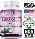 Premium Elderberry Immune Boosting Supplement | Natural Immunity Booster for Men & Women with Vitamins, Minerals & Antioxidants | Extra Strength | Healthy Sambucus Nigra Elderberry Extract | 1150mg Review