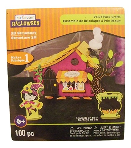 Creatology Halloween 3D Activity Kit ~ The Witch's Brewery (100 Pieces) -