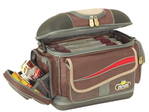 Plano Guide Series Bag with Four 3650 Stowaways (Brown/Grey, - Bag Series Guide