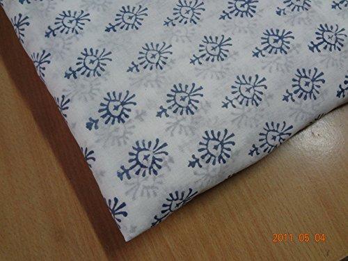 Handicraftofpinkcity Hand Made Hand Block Print Fabric Voile Cotton Soft Cotton Printed Fabric 8 - Printed Voile