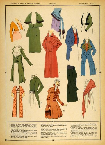 1922  (French Revolution Period Costumes)