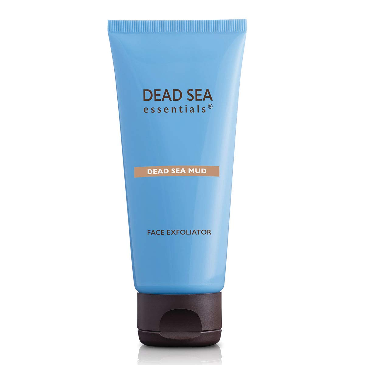 Dead Sea Essentials Mud Face Exfoliator-Dead Sea Minerals & Mud Powered Facial Exfoliator-All Skin Types-Made in Israel-Clean Cruelty Free Skincare-Travel Ready – 3.38 Fl oz-100 ml