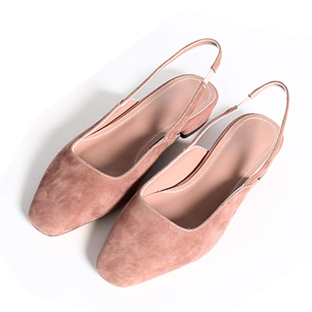 Pink Comfortable and beautiful ladies sandals Sandals Rubber Female Summer Fashion Low-heeled Single shoes