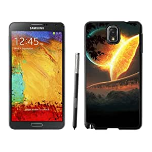 Futuristic Planets Hard Plastic Samsung Galaxy Note 3 Protective Phone Case