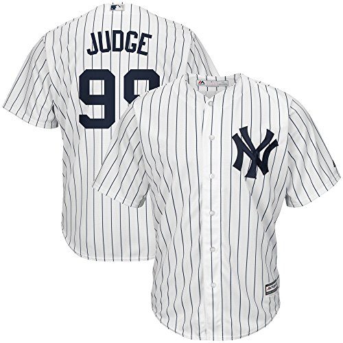 Outerstuff Aaron Judge New York Yankees #99 Youth Cool Base Home Jersey (Youth Large - Youth Jersey Baseball