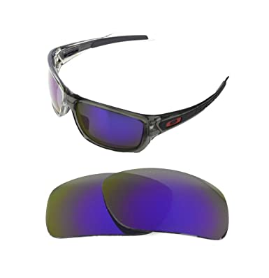 246c8f8479 NEW POLARIZED REPLACEMENT PURPLE LENS FOR OAKLEY DROP POINT SUNGLASSES