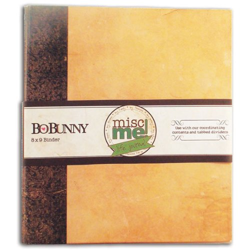 Kraft Misc Me Binder Life Journal, 8 by 9-Inch, Kraft