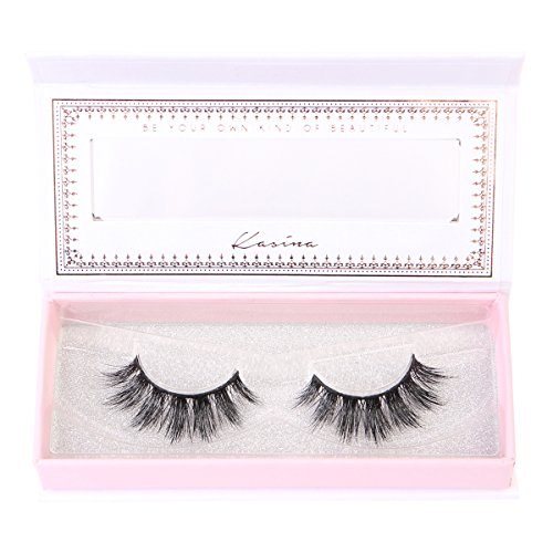 35c22e504d3 Kasina Mink Eyelashes 100% Original Mink Fur Hand-made False Eye lashes, 1