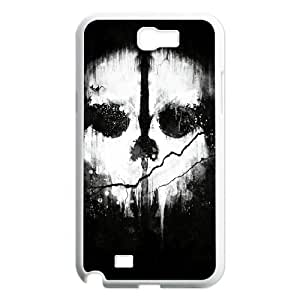 Samsung Galaxy Note 2 N7100 2D Personalized Phone Back Case with Call of Duty Ghosts Image