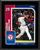 "Adrian Beltre Texas Rangers 10.5"" x 13"" Sublimated Player Plaque - MLB Player Plaques and Collages"