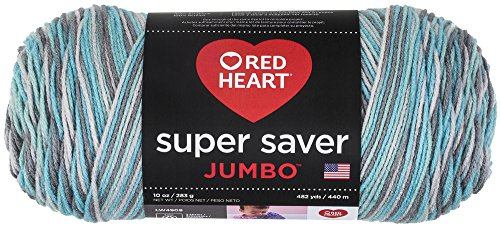 Red Heart Super Saver Jumbo E302C, Icelandic ()