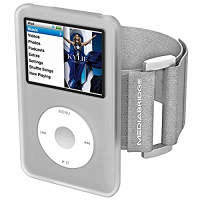 Mediabridge Armband for iPod Classic - 7th Generation (Clear) - Model AB1 - (Part# AB1-IPC7-CLEAR ) by Mediabridge Products, LLC.