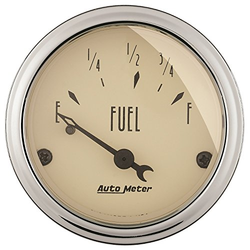 Auto Meter 1816 Antique Beige Fuel Level Gauge