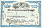 1976 General Motors Stock Certificate