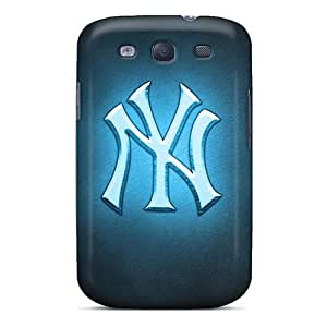 Samsung Galaxy S3 WVb2447TUWq Custom Attractive New York Yankees Pictures Protective Cell-phone Hard Covers -InesWeldon