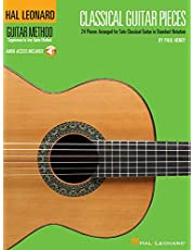 Classical Guitar Pieces: 24 Pieces Arranged for Solo Guitar in Standard Notation