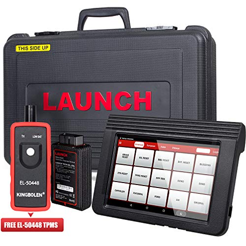 LAUNCH X431 V (V PRO) Bi-Directional Diagnostic Tool OBD2 Scanner Auto Full System Scan Tool Support ECU Coding,Actuation Test,Remote Diagnostic,Reset Functions Free Online Update+EL-50448 TPMS Tool