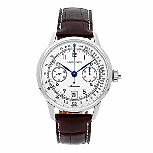 Longines Heritage automatic-self-wind mens Watch L2.800.4.23.2 (Certified Pre-owned)