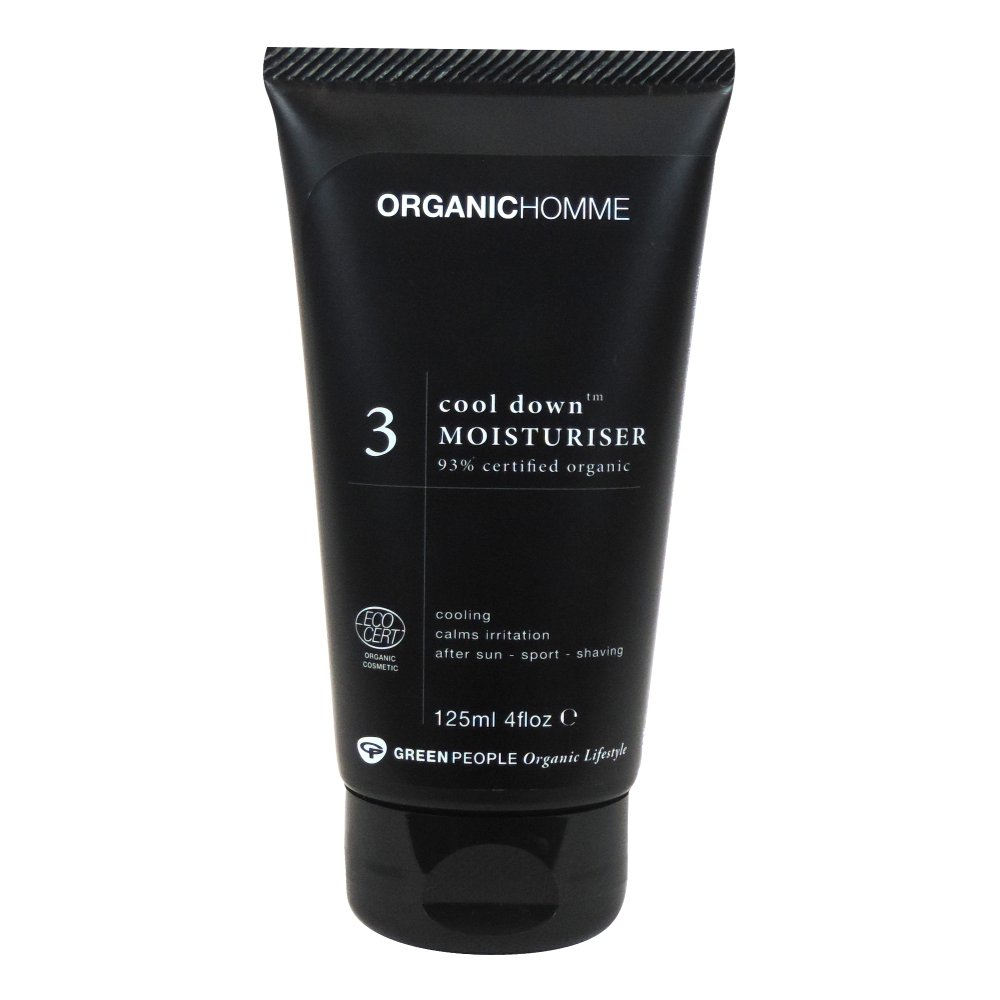 Organic Homme - 3 Cool Down Moisturiser - 125ml (Case of 6)