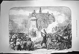 Lugar Ardiente Voltaire de la Guillotina de París de la Guerra Civil 1871 [Cocina y Hogar]