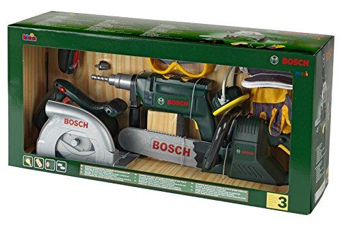 Kinder Kettensäge - Theo Klein 8512 Großes Bosch Bauarbeiterset