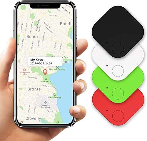 Kimfly Key Finder Locator 4Pcs Smart Tracker Item Finder Phone Finder Bluetooth Tag